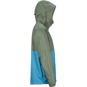 Marmot PreCip Eco Plus Jacket Herr crocodile/turkish tile